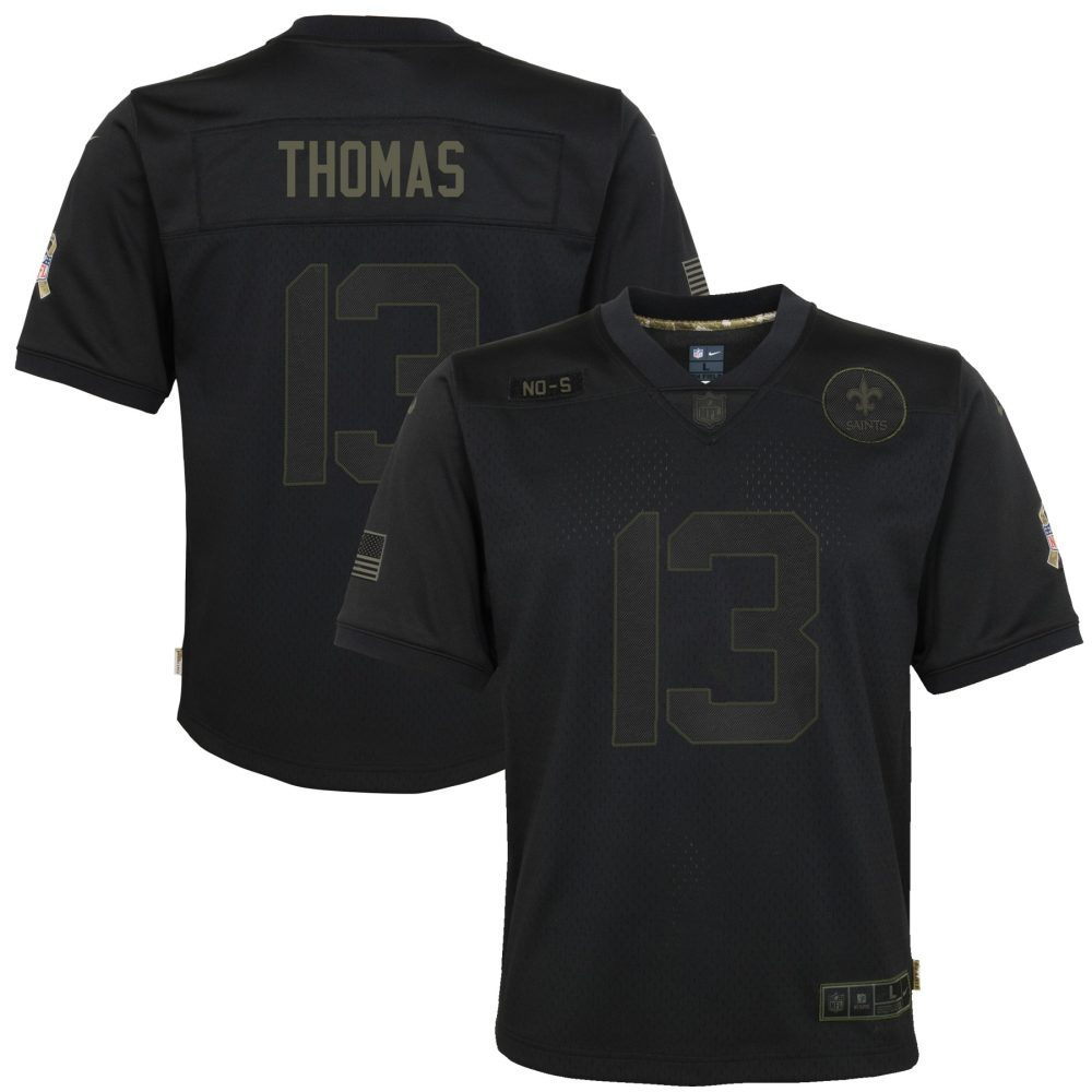 Youth Nike Michael Thomas Black New Orleans Saints nfl jersey guide
